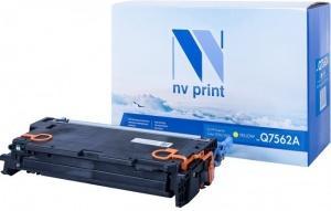 Фото - Картридж NV-Print Q7562A для HP Color LJ 2700 3000 3500стр Желтый картридж nv print ce250x черный для hp color lj cm3530 cp3525dn