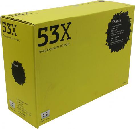 Картридж T2 Q7553X для HP LaserJet P2014 P2015 M2727nf MFP черный 7000стр TC-H53X картридж t2 для hp tc h85a laserjet p1102 1102w pro m1132 m1212nf m1214nfh canon i sensys lbp6000 cartrige 725 1600 стр с чипом