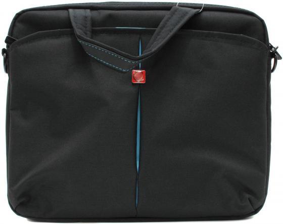 Сумка для ноутбука 10 Continent CC-010 Black нейлон черный цена