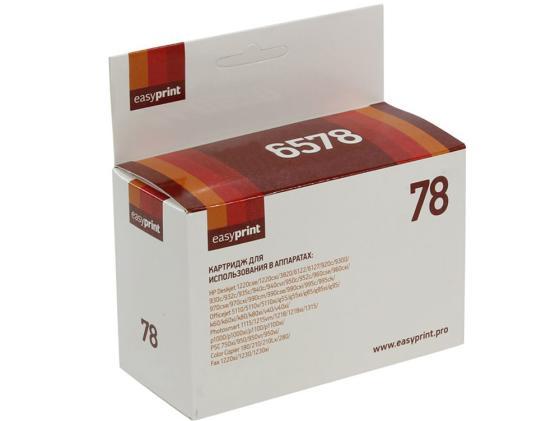 Фото - Картридж EasyPrint C6578A Картридж №78 для HP Deskjet 930 940 950 960 970 1220 цветной 1200стр IH-6578 картридж hp 950 cn049ae