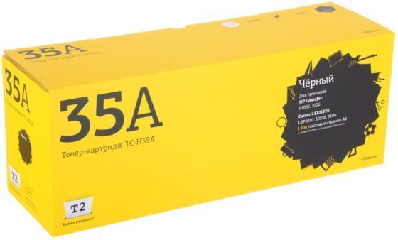 Картридж T2 CB435A для HP LJ 1005 P1006 черный с чипом 1500стр TC-H35A