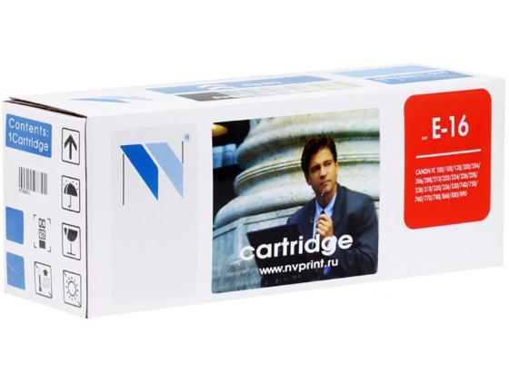 Фото - Картридж NVPrint E-16 для FC 100 200 300 PC800 Series 2000 стр картридж nv print e 30 для canon fc 2xx 3xx 108 208 pc 7xx
