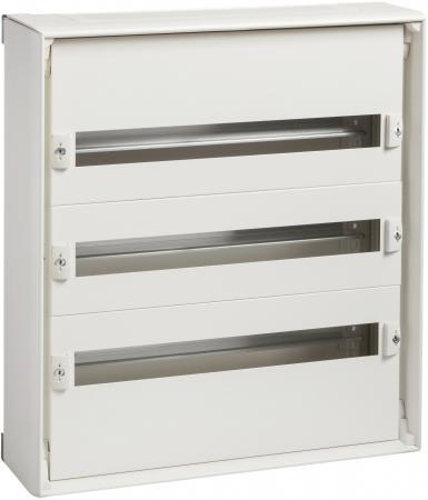Шкаф электрический навесной Schneider Electric 550мм 3 ряда 8003 шкаф электрический встраиваемый schneider electric pragma 1 ряд 18 модулей pra24118