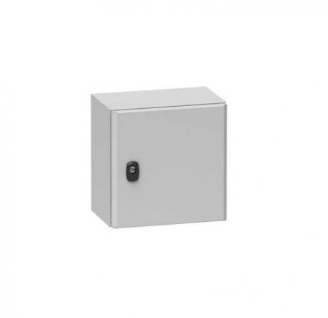 Шкаф электрический Schneider Electric S3D с платой 600х600х400мм NSYS3D6640P шкаф электрический навесной schneider electric 600мм 21 модуль 8107
