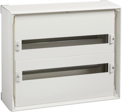Шкаф электрический навесной Schneider Electric 550мм 2 ряда 8002 шкаф электрический встраиваемый schneider electric pragma 1 ряд 18 модулей pra24118