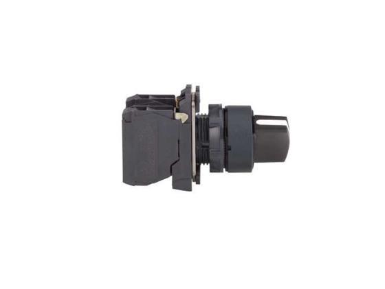 Переключатель Schneider Electric 22мм 2 позиции черный XB5AD21 шкаф электрический навесной schneider electric 600мм 21 модуль 8107