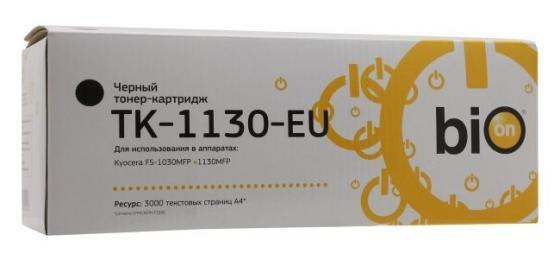 Фото - Картридж Bion TK-1130 для Kyocera FS-1030MFP FS-1130MFP 3000стр Черный стойка avf fs 15 bayxw fl602 черный орех