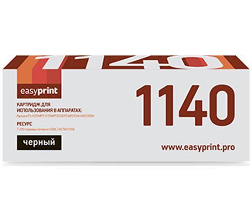 Фото - Тонер-картридж EasyPrint TK-1140 для Kyocera FS-1035MFP/1135MFP 7200стр Черный тонер картридж easyprint tk 1130 для kyocera fs 1030mfp 1130mfp 3000стр