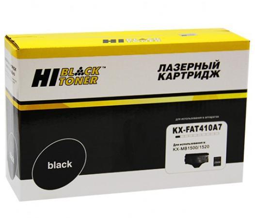 Картридж Hi-Black KX-FAT410A для Panasonic KX-MB1500/1520 (Hi-Black) KX-FAT410A7 2500стр