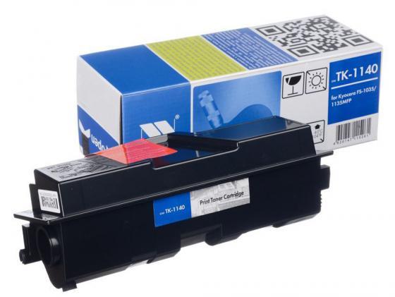 Картридж NV-Print TK-1140 для Kyocera FS-1035MFP DP/1135MFP черный 7200стр лазерный картридж kyocera tk 710 для fs 9130dn 9530dn черный