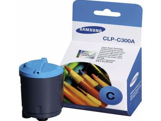 Картридж Hi-Black для Samsung CLP-C300A CLP-300 голубой с чипом 1000стр