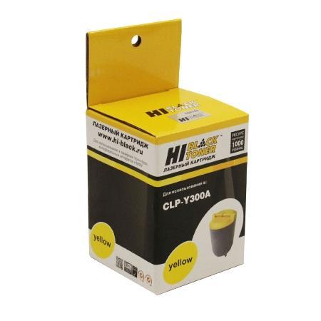 Картридж Hi-Black для Samsung CLP-Y300A CLP-300 желтый с чипом 1000стр 98052090131 картридж для принтера hi black hb clp k300a black