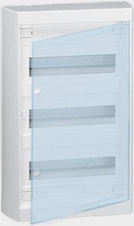 Щиток навесной Legrand Nedbox 2х12 модулей прозрачная дверь 601247 legrand бокс оп nedbox 2х12мод прозр дверь leg 601247
