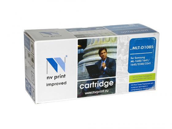 Картридж NV-Print MLT-D108S для Samsung ML-1640 1641 2240 2241 черный 1500стр картридж samsung mlt d108s