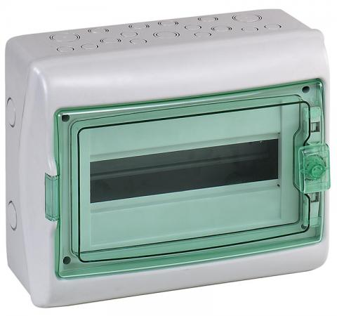 Бокс Schneider Electric Kaedra 12 модулей 13981 щиток навесной для 8 модулей пластиковый ip65 schneider electric kaedra