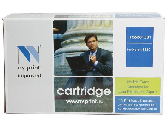 Фото - Картридж NV-Print 106R01531 106R01531 для WorkCentere 3550 11000стр Черный картридж nv print cs ept50436 для xerox wc 3550 11000стр черный
