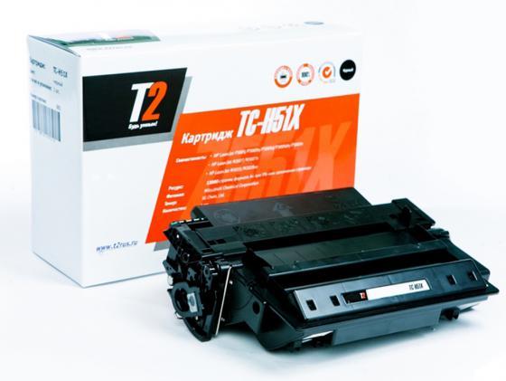 Фото - Картридж T2 Q7551X для HP LaserJet P3005/M3027/M3035 13000стр TC-H51X картридж cactus cs q7551x cs q7551xs для laserjet p3005 m3035mfp m3027mfp 13000стр