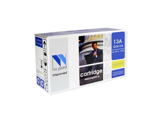 Фото - Картридж NVPrint Q2613A для HP LaserJet 1300 черный 2500стр картридж cactus csp q2613a для laserjet 1300 3500стр