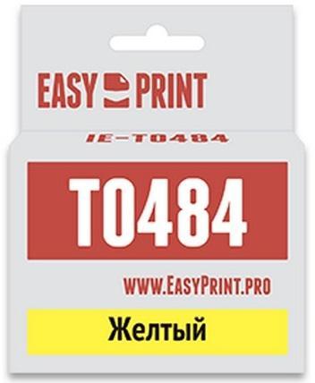 Фото - Картридж EasyPrint C13T0484 для Epson Stylus Photo R200/300/RX500/600 желтый IE-T0484 epson ev 105 v11h868140