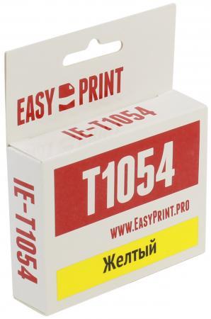 Фото - Картридж EasyPrint C13T0734 для Epson Stylus C79/CX3900/TX209 желтый IE-T1054 набор картриджей для epson c13t10554a10 multi pack для epson stylus c79 cx3900 4900 5900 4 цвета black cyan magenta yellow