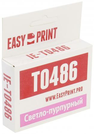 Фото - Картридж EasyPrint C13T0486 для Epson Stylus R200/R300/RX500/RX600 светло-пурпурный с чипом 430стр IE-T0486 epson ev 105 v11h868140