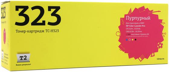 Картридж T2 CE323A для HP LaserJet Pro CP1525n/CP1525nw/CM1415fn/1415fnw пурпурный 1300стр for hp 1415 cm1415 cm1415fn 1415fn cm1415mfp 1415mfp original used formatter board ce790 60001 laserjet printer parts on sale