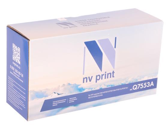 Картридж NV-Print Q7553A для HP LaserJet P2014/P2015/M2727mfp черный 3000стр цена