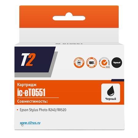 Фото - Картридж T2 C33S020410 для для Epson Stylus Photo R240/RX420/RX520 460стр Черный картриджи для принтера epson stylus photo rx420 rx425 rx520 r240 r245 с чипом 0551 4 шт
