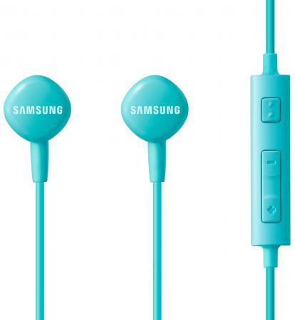 все цены на Гарнитура проводная Samsung EO-HS1303LEGRU 3.5мм голубой онлайн
