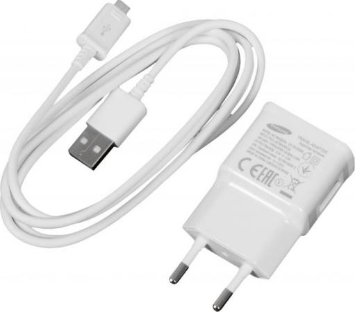 цена на Сетевое зарядное устройство Samsung EP-TA12EWEUGRU 2А microUSB белый