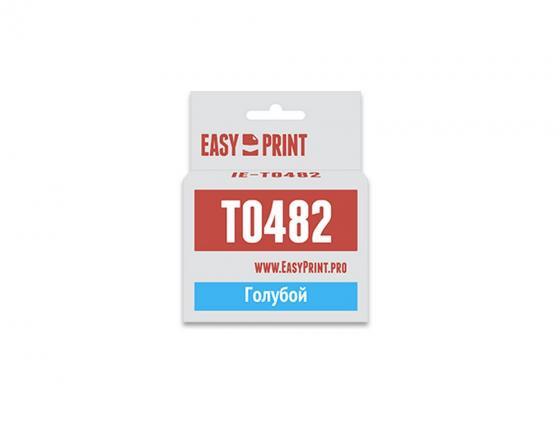 Фото - Картридж Easyprint IE-T0482 C13T048240 для Epson St Ph R200/R300 голубой с чипом epson ev 105 v11h868140