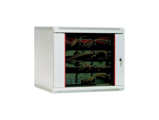 Шкаф настенный 15U ЦМО ШРН-15.480 600x480 дверь стекло шкаф изотта 23к дверь правая ангстрем