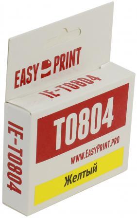 Картридж EasyPrint IE-T0804 C13T08044011для Epson Stylus Photo P50 PX660 PX720WD PX820FWD желтый принтер epson stylus photo p50