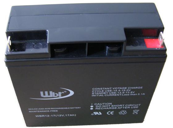цена на Батарея WBR GP12170 12V/17AH