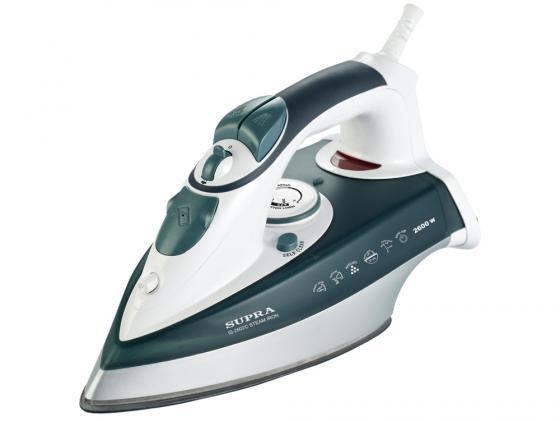 Утюг Supra IS-2602C 2600Вт бело-зеленый утюг supra is 2602c is 2602c