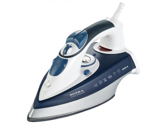 Утюг Supra IS-2602C 2600Вт бело-синий утюг supra is 2602c 2600вт бело синий