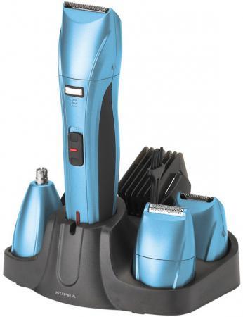 Машинка для стрижки волос Supra RS-404 синий рубашка поло с полной запечаткой printio dogs love art