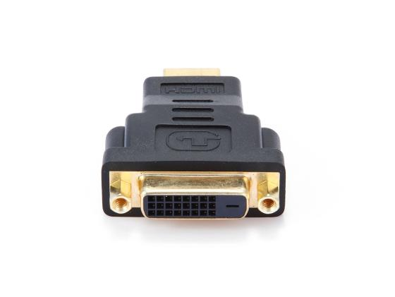 Переходник HDMI M - DVI F Gembird золотые разъемы пакет A-HDMI-DVI-3 переходник hdmi m dvi m