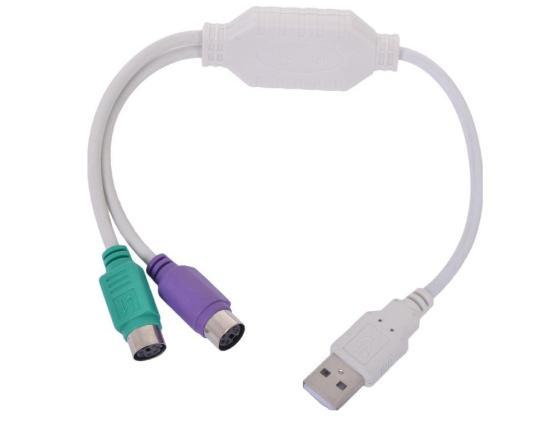Конвертер Gembird USB Am-2xPS/2 UAPS12 цены