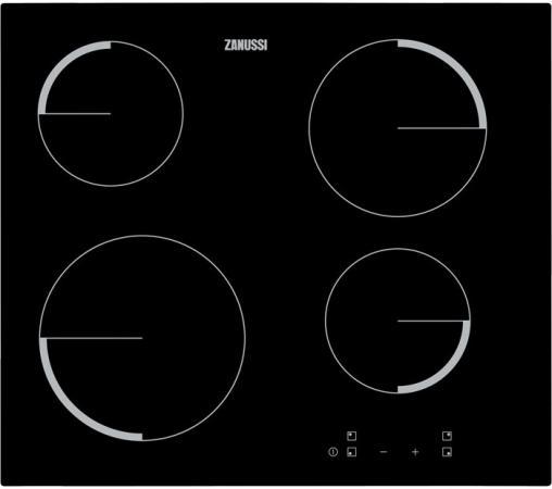 Варочная панель электрическая Zanussi ZEV56240FA черный zanussi zan2405
