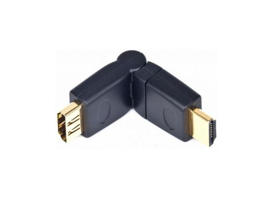 Фото - Переходник HDMI F-HDMI M Gembird A-HDMI-FFL2 переходник hdmi f hdmi f vention h380hdff