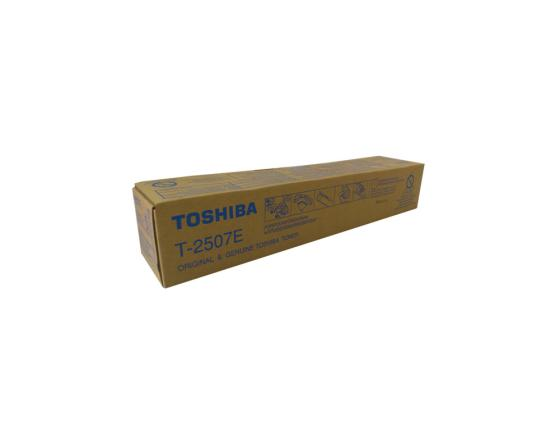 Тонер-картридж Toshiba T-2507E для e-STUDIO2006/2506/2007/2507 черный 12000стр 6AG00005086 c builder borland developer studio 2006 для профессионалов
