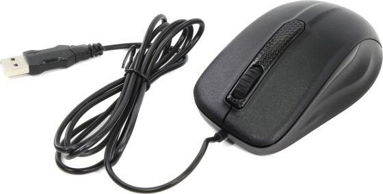 лучшая цена Мышь проводная Oklick 175M чёрный USB