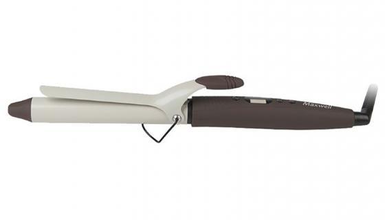 Щипцы для завивки волос Maxwell MW-2413-BN 36Вт коричневый  выпрямитель maxwell mw 2211 bn
