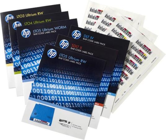 все цены на  Комплект этикеток HP со штрихкодом 100шт Q2013A  онлайн
