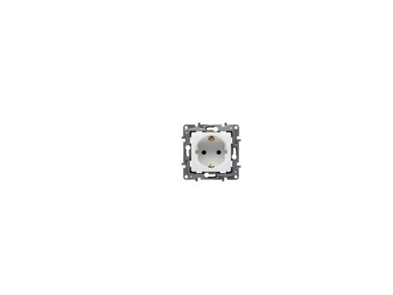 Розетка Legrand Etika 2К+З белый 672221