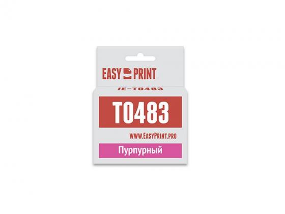 Фото - Картридж * IE-T0483 для для Epson Stylus Photo R200/300/RX500/600 400стр Пурпурный epson ev 105 v11h868140