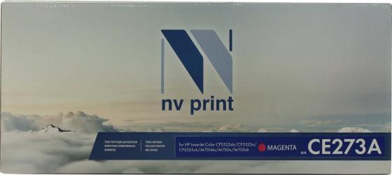 Фото - Картридж NV-Print CE273A CE273A для HP Color LaserJet-CP5520, CP5525 15000стр Пурпурный картридж target tr ce273a magenta для hp lj cp5520