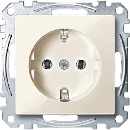 Розетка электрическая Schneider Electric бежевый MTN2300-0344