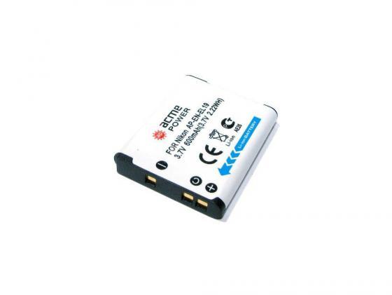 Аккумулятор AcmePower AP-EN-EL19 для фотокамеры NIKON футболка clwr clwr cl003ewtqu53